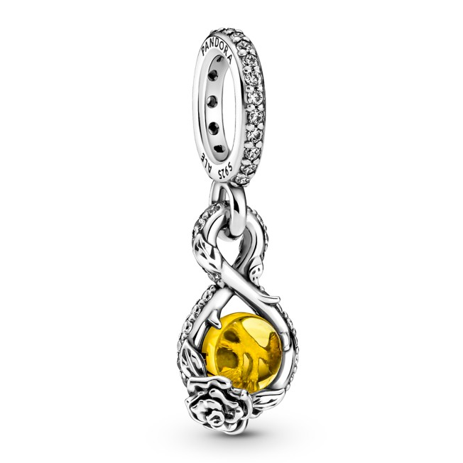 Belle Pendant Charm by Pandora Jewelry – Beauty and the Beast