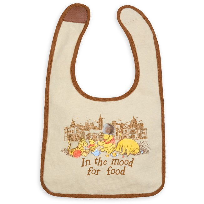 Winnie the Pooh Classic Reversible Bib for Baby – Epcot