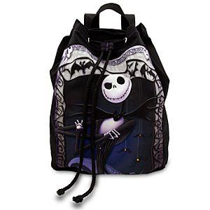 Jack Skellington Cinch Sack Backpack Regular Disney Store