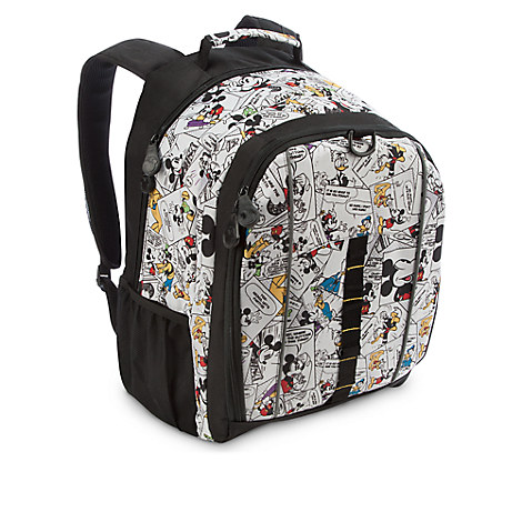 Mickey Mouse and Friends Comic Strip Backpack - Regular