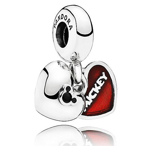 Mickey and Minnie Mouse ''Mickey & Minnie'' Charm by PANDORA