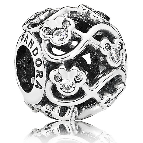 Mickey and Minnie Mouse ''Minnie and Mickey Infinity'' Charm by PANDORA