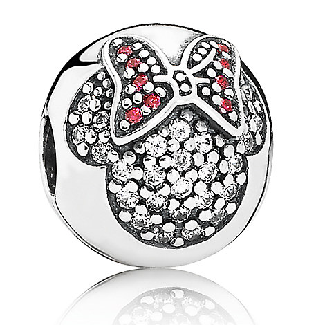 Minnie Mouse ''Minnie Pavé'' Charm by PANDORA