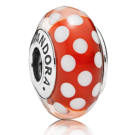 Minnie Mouse ''Minnie's Signature Look'' Charm by PANDORA