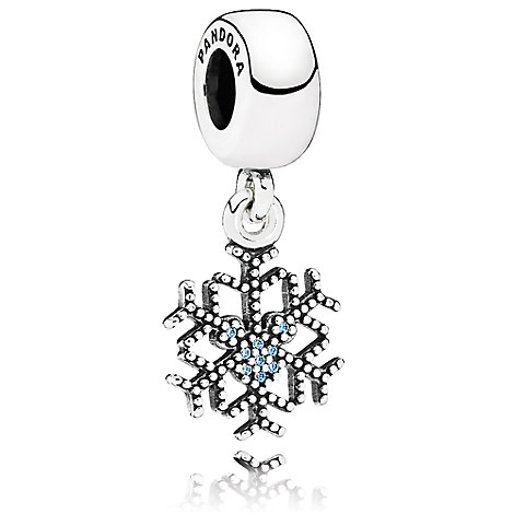 Mickey Mouse ''Mickey's Sparkling Snowflake'' Charm by PANDORA