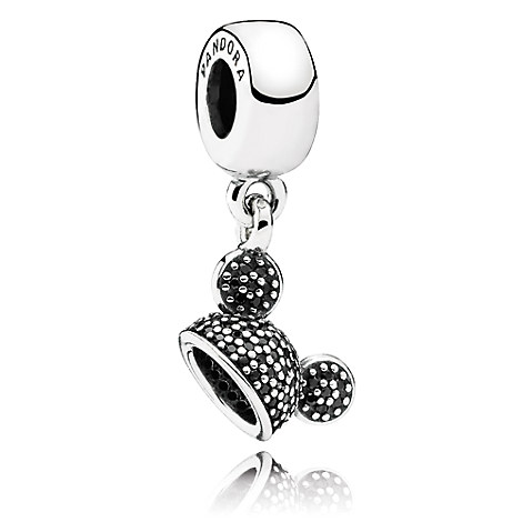 Mickey Mouse ''Mickey Sparkling Ear Hat'' Charm by PANDORA