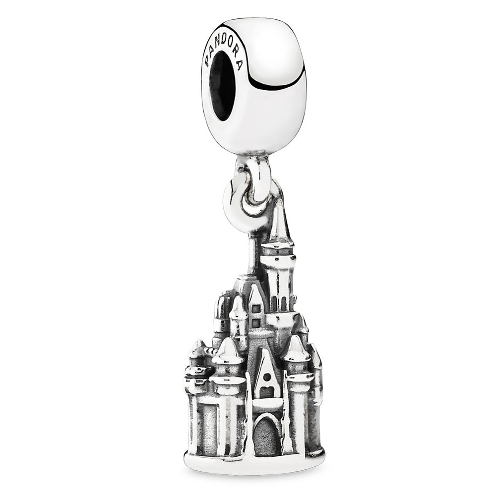 Walt Disney World ''Cinderella Castle'' Charm by Pandora Jewelry