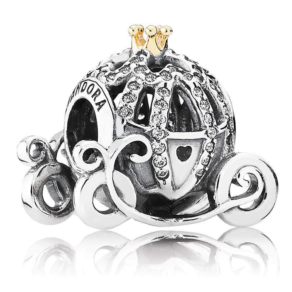Cinderella Pumpkin Coach Charm by Pandora Jewelry