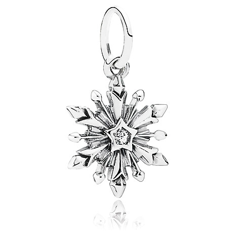 Frozen Snowflake Dangle Charm by PANDORA