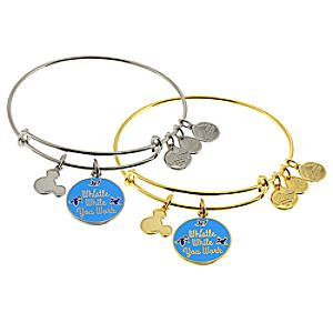 "Snow White ""Whistle While You Work"" Bangle by Alex and Ani"