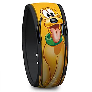 Pluto Signature Disney Parks MagicBand
