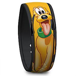 Pluto Signature Disney Parks MagicBand
