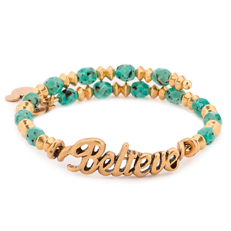 Believe Gold Wrap Bracelet by Alex and Ani