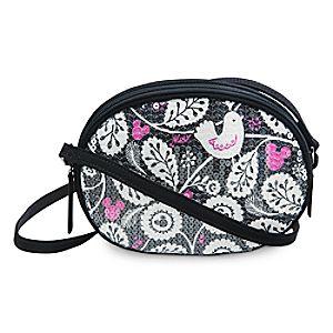 Mickey Meets Birdie Shimmer Crossbody Bag by Vera Bradley