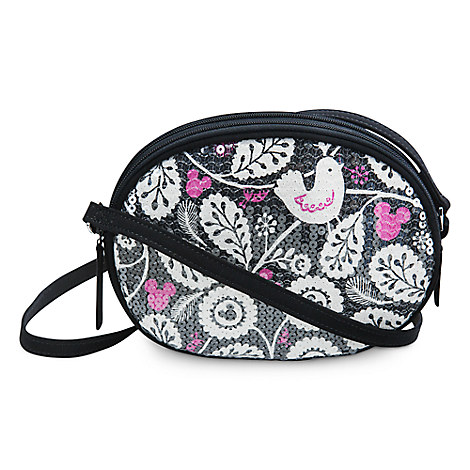 Mickey Meets Birdie Shimmer Crossbody Bag by Vera Bradley