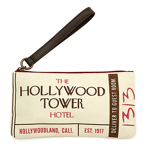 Hollywood Tower Hotel Wristlet