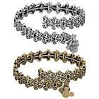 Mickey Mouse Filigree Wrap Bracelet by Alex and Ani