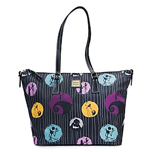 Tim's Burton's The Nightmare Before Christmas Shopper Tote by Dooney & Bourke