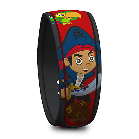 Jake and the Never Land Pirates Disney Parks MagicBand