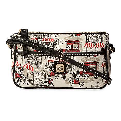 Mickey and Minnie Mouse Downtown Pouchette by Dooney & Bourke