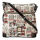 Mickey and Minnie Mouse Downtown Letter Carrier Bag by Dooney & Bourke