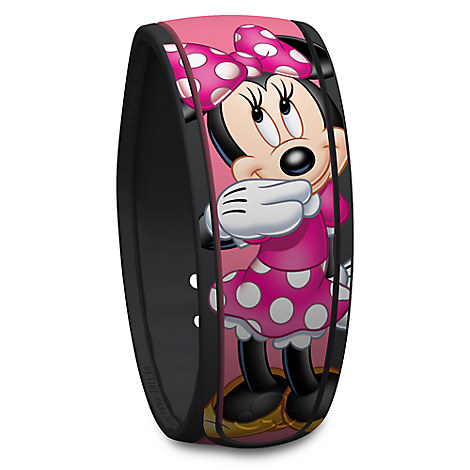 Minnie Mouse Signature Disney Parks MagicBand