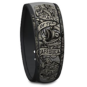 Pirates of the Caribbean Disney Parks MagicBand 7501055890311P