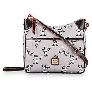 Mickey and Minnie Mouse Retro Crossbody Bag by Dooney & Bourke - Gray