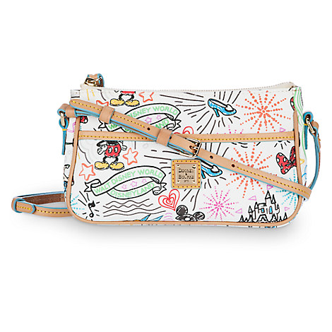Disney Sketch Pouchette by Dooney & Bourke