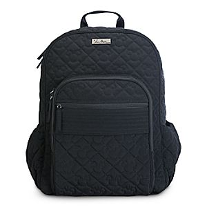 Disneystore Mickey Mouse Icon Campus Backpack By Vera Bradley  -  Black