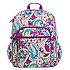 Plums Up Mickey Campus Backpack by Vera Bradley