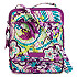 Plums Up Mickey Mini Hipster Bag by Vera Bradley