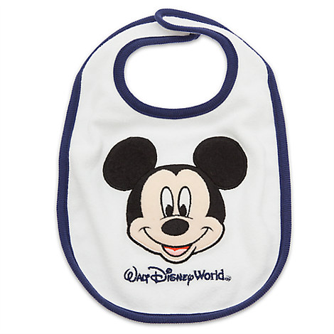 Mickey Mouse Bib for Baby - Walt Disney World