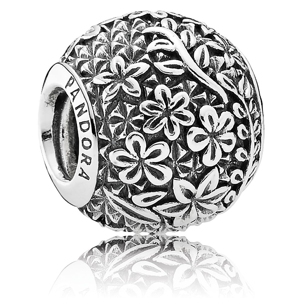 Epcot Floral Charm By Pandora Jewelry Shopdisney