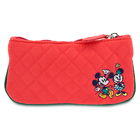Mickey and Minnie Mouse Quilted Purse - Walt Disney World