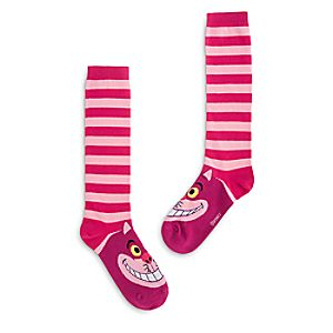 Cheshire Cat Knee Socks for Women