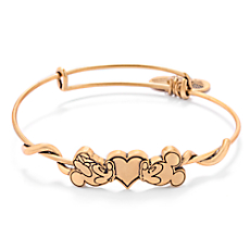 750cca556 Mickey and Minnie Mouse Bangle by Alex and Ani