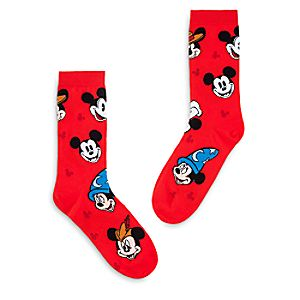 Mickey Mouse Through the Years Socks for Adults