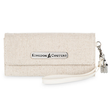 Kingdom Couture Collection Linen Wallet