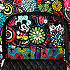 Mickey's Magical Blooms Campus Backpack by Vera Bradley