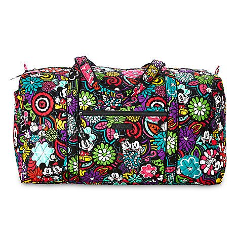 Mickey's Magical Blooms Duffle Bag by Vera Bradley