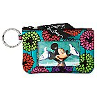 Mickey's Magical Blooms Zip ID Case by Vera Bradley