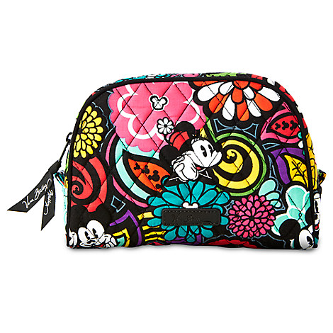 Mickey's Magical Blooms Cosmetic Bag by Vera Bradley