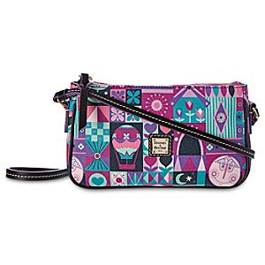 its a small world Crossbody Pouchette by Dooney & Bourke
