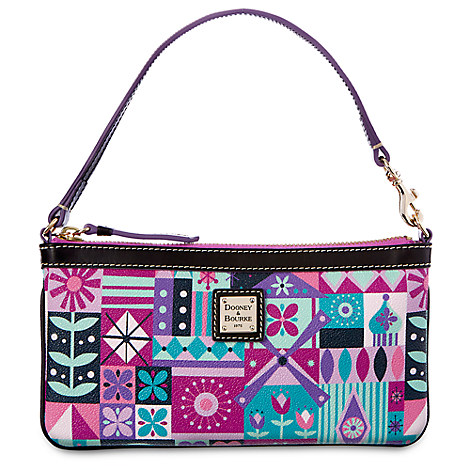 ''it's a small world'' Wristlet by Dooney & Bourke