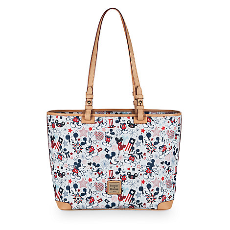 Patriotic Mickey Mouse Shopper by Dooney & Bourke