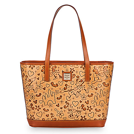 Mickey and Minnie Mouse ''Lovebirds'' Shopper by Dooney & Bourke
