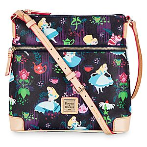 Alice in Wonderland Leather Crossbody Bag by Dooney & Bourke