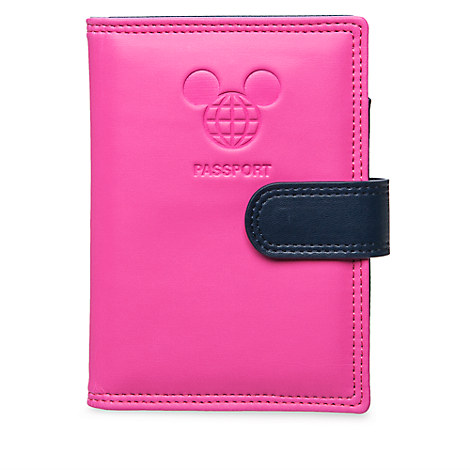 Mickey Mouse Disney TAG Passport Holder - Pink - Walt Disney World