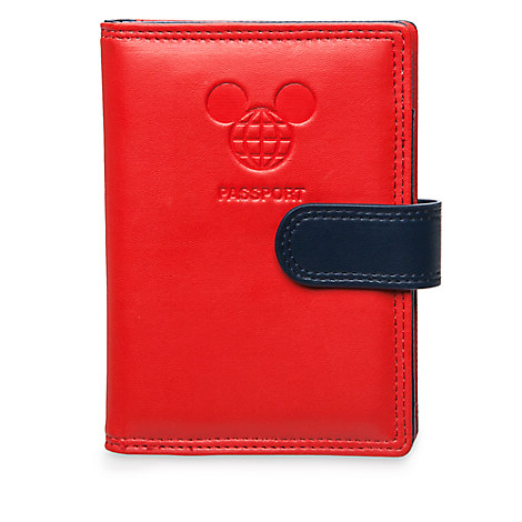 Mickey Mouse Disney TAG Passport Holder - Red - Walt Disney World